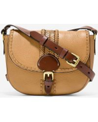 Cole Haan - Loralie Whipstitched Mini Saddle Bag - Lyst