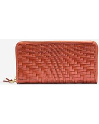Cole Haan - Genevieve Weave Large Continental Wallet - Lyst