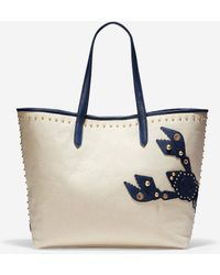 Cole Haan - Payson Canvas Tote - Lyst