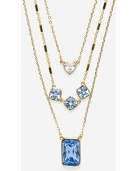 Cole Haan - Aurora Sky Triple Layered Necklace - Lyst