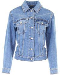 Alexander McQueen - Vintage Cotton-wash Denim Jacket - Lyst