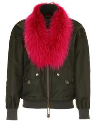 Mr & Mrs Italy - Bomber Jacket With Embroidery - Lyst