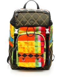 7ffed632abe Lyst - Givenchy Patch Backpack in Black for Men