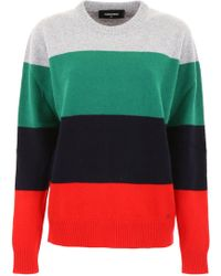 DSquared² - Color Block Pullover - Lyst