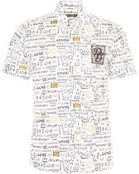 Dolce & Gabbana - Printed Shirt - Lyst