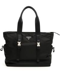 Prada - Nylon Weekend Bag - Lyst