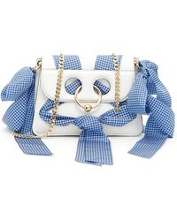 JW Anderson - Mini Pierce Leather Bag With Ribbons - Lyst