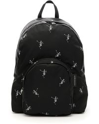 Alexander McQueen - Dancing Skeleton Print Backpack - Lyst