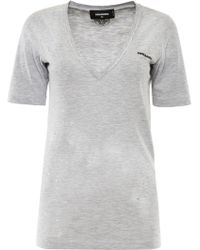 DSquared² - Destroyed T-shirt - Lyst