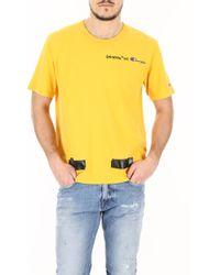 Off-White c/o Virgil Abloh - T-Shirt Champion - Lyst