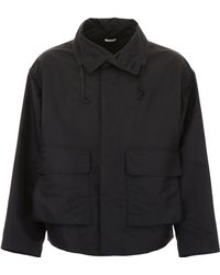 Jil Sander - Jacket With High Neck - Lyst