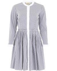 MICHAEL Michael Kors - Striped Dress - Lyst