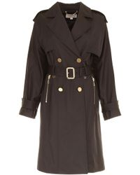 MICHAEL Michael Kors - Wide-sleeved Trench Coat - Lyst