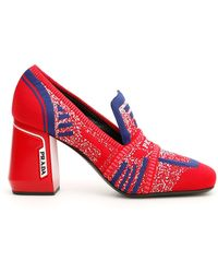 374f9813dc2 Lyst - Prada Loafers Women in Black