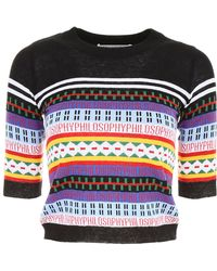 Philosophy - Striped Pullover - Lyst