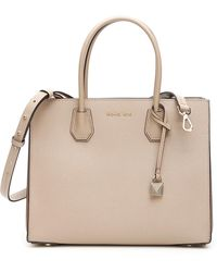 57cd37e778b6 MICHAEL Michael Kors Tote - Susannah Large in Natural - Lyst