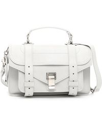 Proenza Schouler - Lux Leather Ps1 Tiny Bag - Lyst