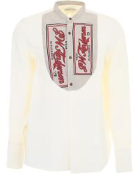 JW Anderson - Shirt With Plastron - Lyst