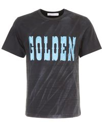 Golden Goose Deluxe Brand - Edward T-shirt With Print - Lyst