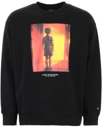 Marcelo Burlon Felpa Close Encounters - Nero