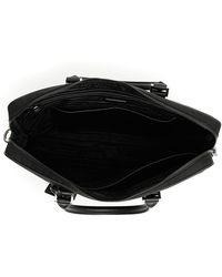 1fb3f927cc6371 Prada Nylon Double-zip Briefcase in Black for Men - Lyst