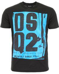 DSquared² - Dsq2 Punk T-shirt - Lyst