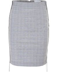 Forte Couture - Midi Skirt With Logo - Lyst