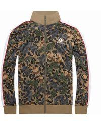 53ca51d97cf5 Converse Men Track Jacket in Black for Men - Lyst