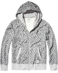 Converse | Essentials Leopard Full Zip Hoodie | Lyst