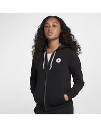 Converse - Core Full-zip Women's Hoodie - Lyst