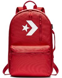 Converse - Cordura Street 22 Backpack (red) - Lyst