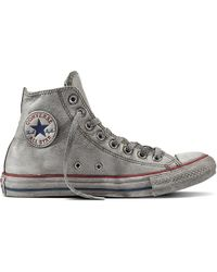 Converse - Chuck Taylor All Star Vintage Leather - Lyst