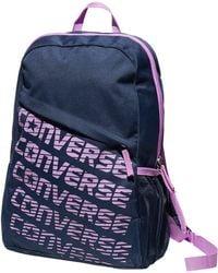 59eadffcc9 Converse - Speed Wordmark Backpack - Lyst