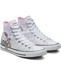 Converse - X Hello Kitty Chuck Taylor All Star High-top - Lyst