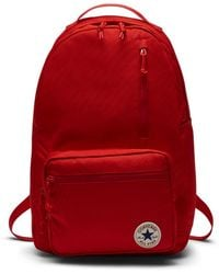 Converse - Poly Go Backpack (red) - Lyst deef54b02c3ee