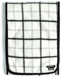 Eastlogue - Quilting Scarf- White & Black Check - Lyst