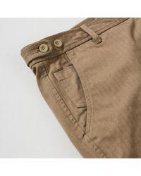 Corridor NYC - Herringbone Shorts - Khaki - Lyst