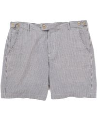 Corridor NYC - Seersucker Shorts - Midnight - Lyst