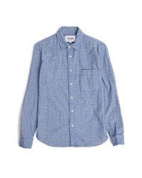 Dillon Montara Grey Flannel Shirt in Gray for Men - Lyst