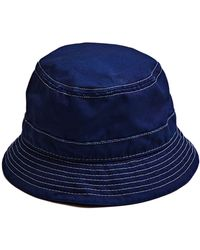 d3a0017c Corridor NYC - Indigo Bucket Hat - White Thread - Lyst
