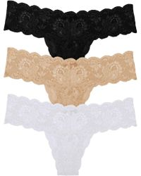 Cosabella - Never Say Nevertm Cutietm Lowrider Thong- Basic Pack One Size - Lyst
