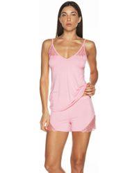 Cosabella Cheyenne Sleepwear Boxer - Pink