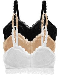 Cosabella - Never Say Nevertm Mommietm Lace Nursing Bra Basic Pack - Lyst