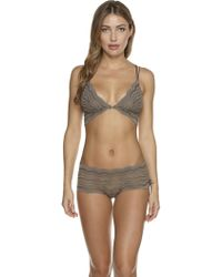 Cosabella - Ceylon Lowrider Lace Hotpant - Lyst
