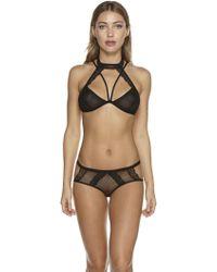 Cosabella | Bisou Fishnet Bikini | Lyst