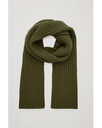 COS - Structured Cashmere Scarf - Lyst
