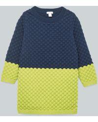 COS - Bobble-stitch Knit Dress - Lyst
