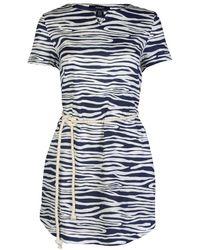 GANT - Ocean Safari Wave Printed Ladies Dress - Lyst