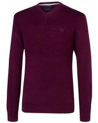 Crew - Richmond Merino V Neck Mens Jumper - Lyst