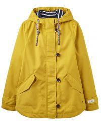 Joules - Coast Womens Waterproof Jacket S/s - Lyst